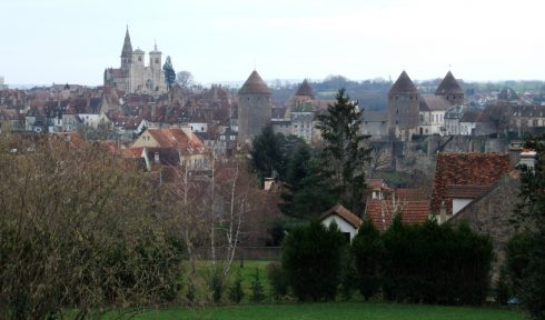 The Burgundian town of Semur where St. Hugh the Great was born. Photo by Christophe Finot