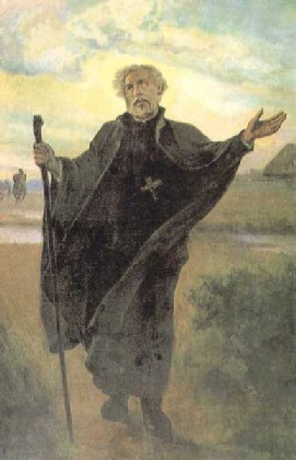 "Saint Andrew Bobola earned the name ""Hunter of Souls"" due to his tireless zeal and missionary travels."