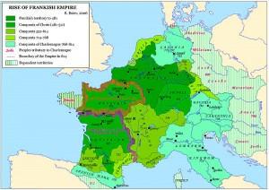 Paul continued his predecessor's policy towards the Frankish king, Pepin, and thereby continued the papal supremacy over Rome and the districts of central Italy in opposition to the efforts of the Lombards and the Eastern Empire.