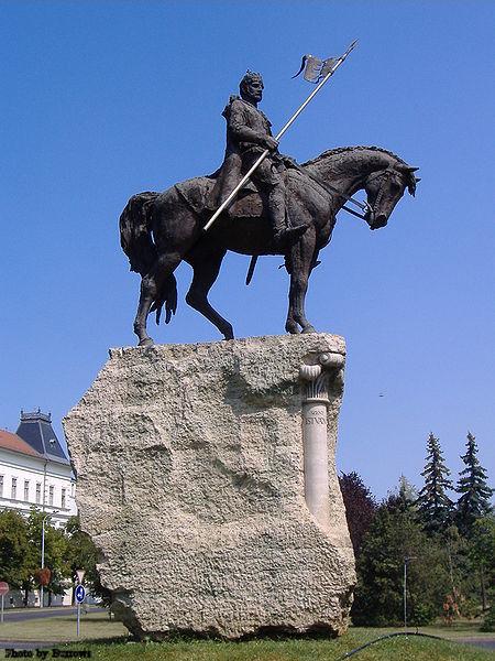 St. Stephen I of Hungary in Makó, Hungary.