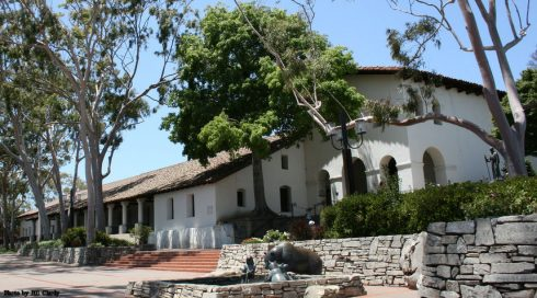 San Luis Obispo Mission in California which is named after St. Louis of Toulouse.