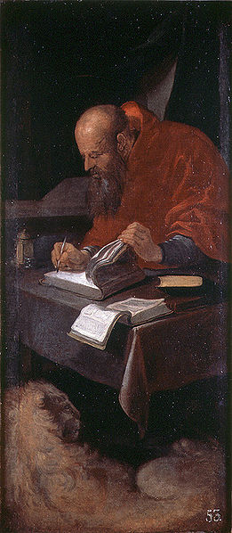 Painting of St. Jerome by Francisco Ribalta