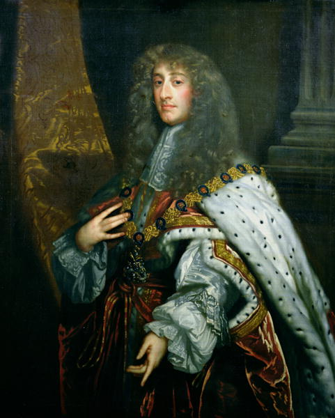 James II of England, painted by Peter Lely