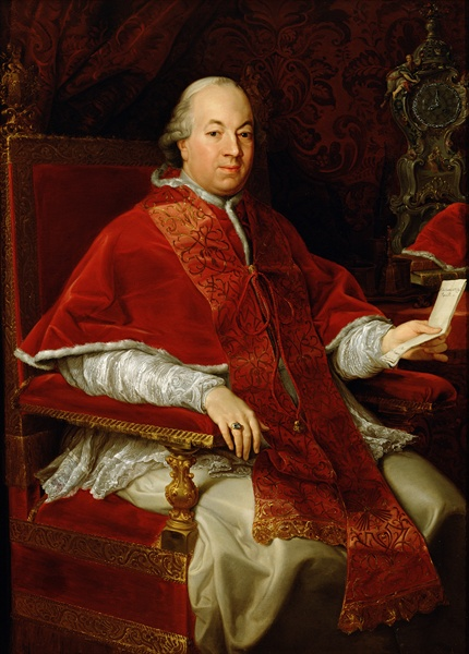 Pope Pius VI painted by Pompeo Batoni