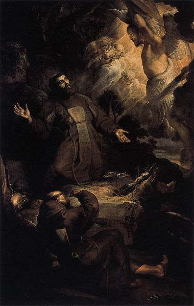 The Stigmatization of Saint Francis, by Rubens