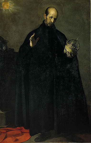St. Francis Borgia Painting by Alonso Cano