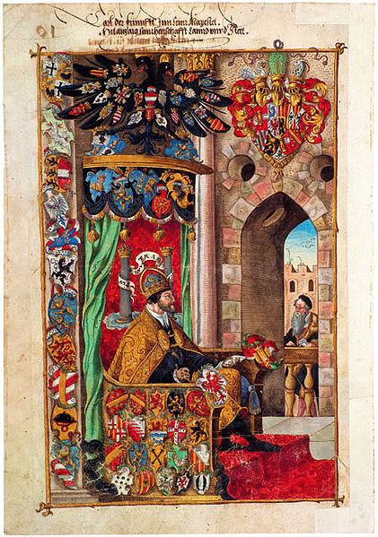 Charles V by Virgil Solis