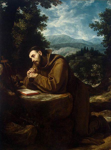St Francis by Cigoli