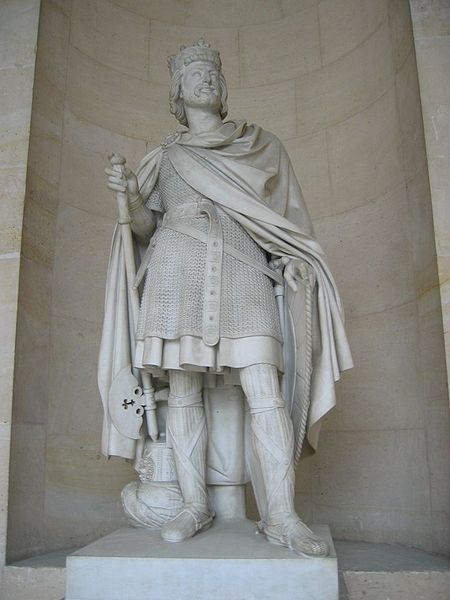 Statue of Charles Martel at the Chateau de Versaille