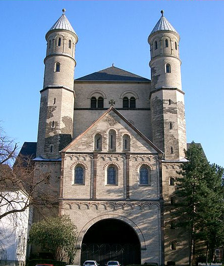 Church of St. Pantaleon in Cologne, Germany.