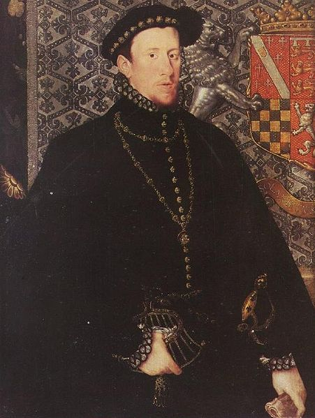Thomas Howard, 4th Duke of Norfolk, father of St. Philip Howard. Painting by Hans Eworth