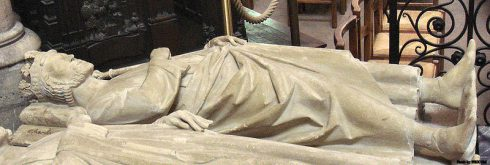 Tomb of Charles Martel, in the Basilique Saint Denis