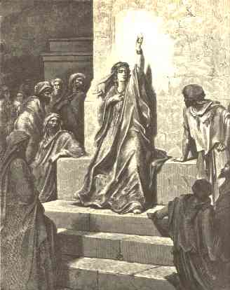 Deborah the Prophetess' by Gustave Doré
