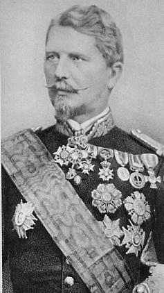 Hermann Kanzler, General of the Papal Troops, in 1870.