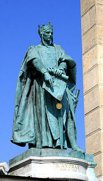 King Andrew II of Hungary, father of St. Elizabeth of Hungary