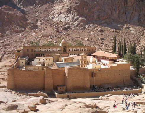 Saint Catherine's Monastery, Mount Sinai (Egypt)