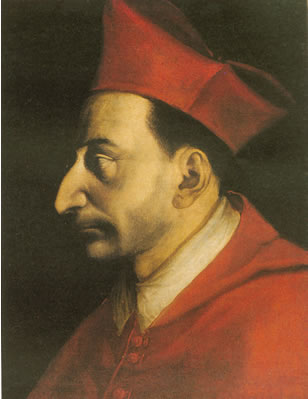 Painting by Giovanni Ambrogio Figino