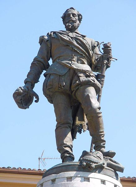 Statue of Miguel López de Legazpi
