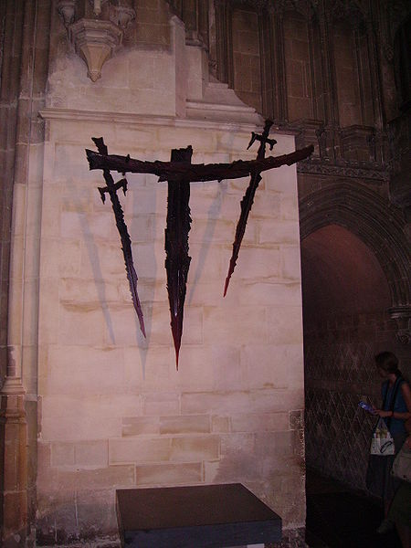Area marking the spot of St. Thomas Becket's martyrdom in Canterbury Cathedral.