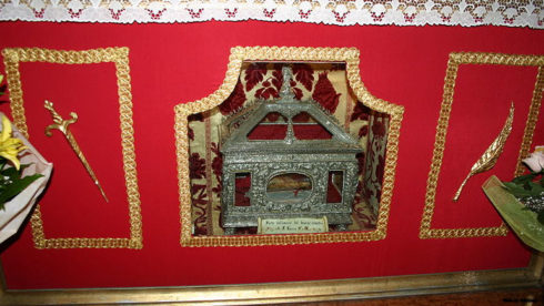 Relic of St. Lucy in the Cathedral of Siracusa, Italy