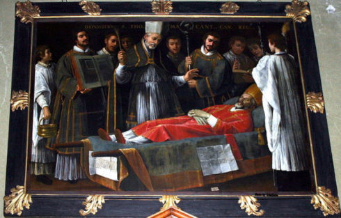 Funeral of St. Thomas Becket
