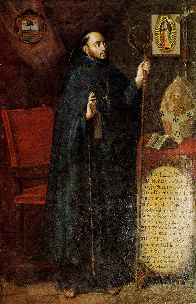 Bishop Juan de Zumárraga, first Archbishop of Mexico City