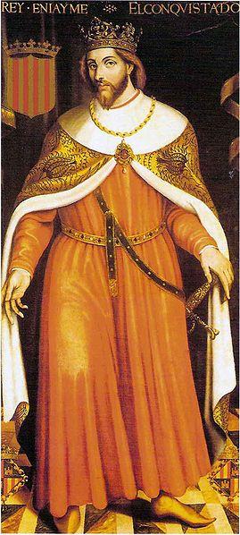 King James I of Aragon