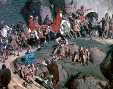 Charlemagne's army crossed the Alps with amazing speed