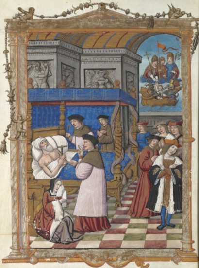 Death of King Dagobert