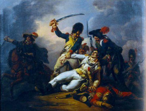 The capture of Général Charette by Louis Joseph Watteau