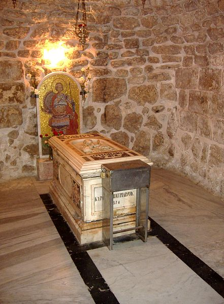 The tomb of Saint George in Lod, Israel