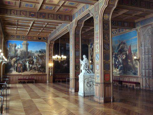 Salle des Croisades, Musée national du Château de Versailles et des Trianons, Versailles, France.
