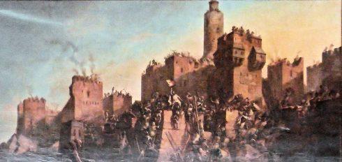 1299 Templars take Jerusalem