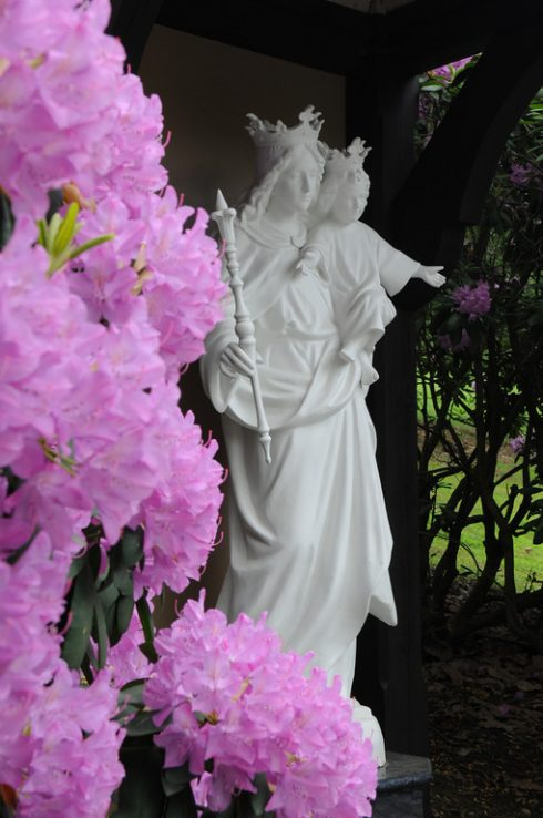 Our Lady Help of Christians, Statue at the Headquarters of the American TFP