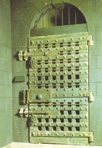 Newgate Prison door, London