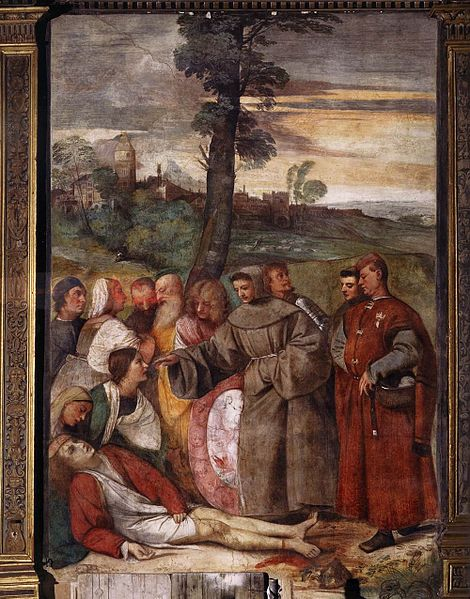 The Miracle of the healed foot by Titian