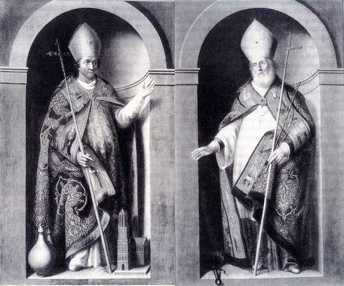 St. Willibrord (r) and St. Boniface (l) by Jan Franse Verzijl