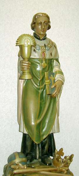 Statue of Saint Cloud in St. Cloud Hospital, Minnesota
