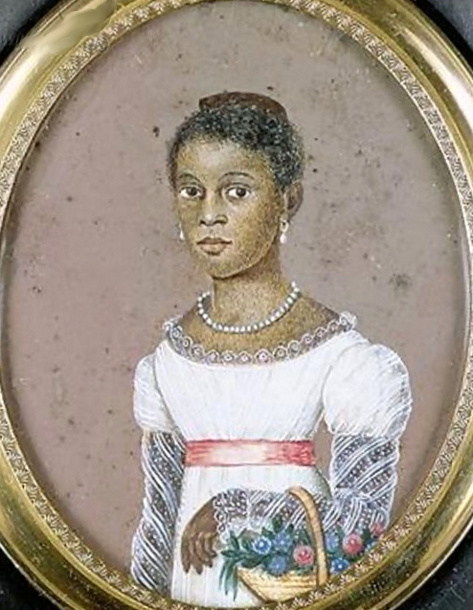 Euphemia Toussaint, Pierre Toussaint's niece. All three paintings were painted by Anthony Meucci.