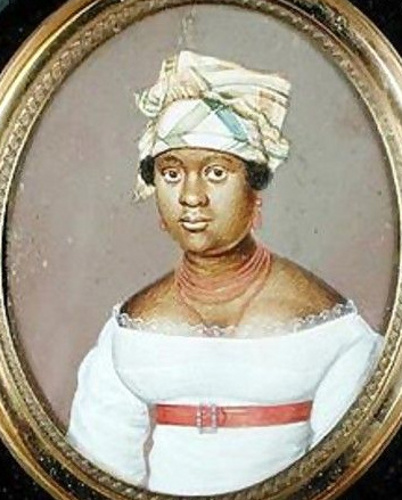Juliet Noel, wife of Pierre Toussaint