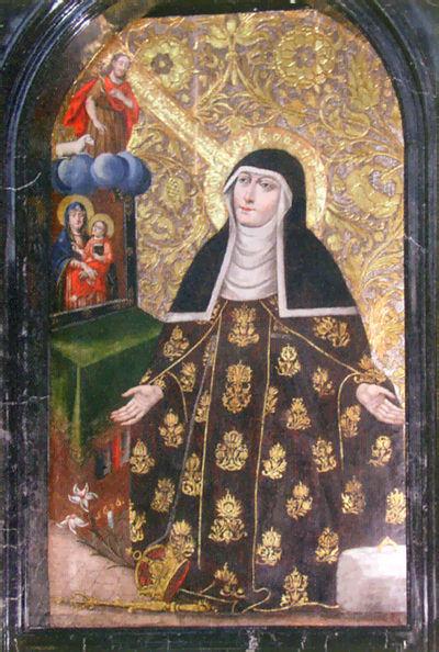 Painting of St. Kinga by Grzegorz Czarnic
