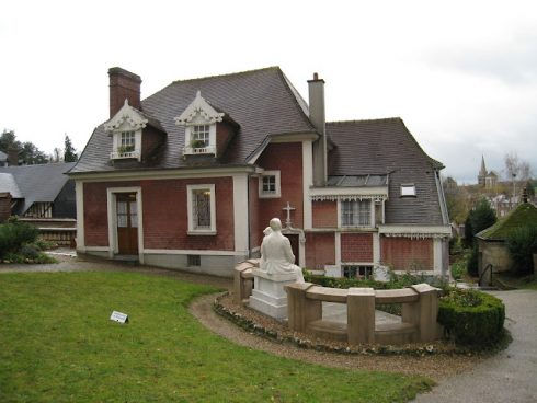 """The family house in Lisieux, called """"les Buissonnets"""""""