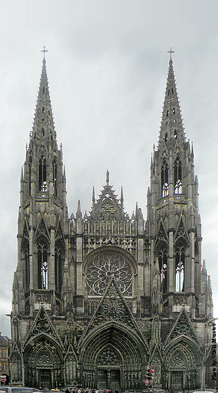 Abbey Saint-Ouen of Rouen