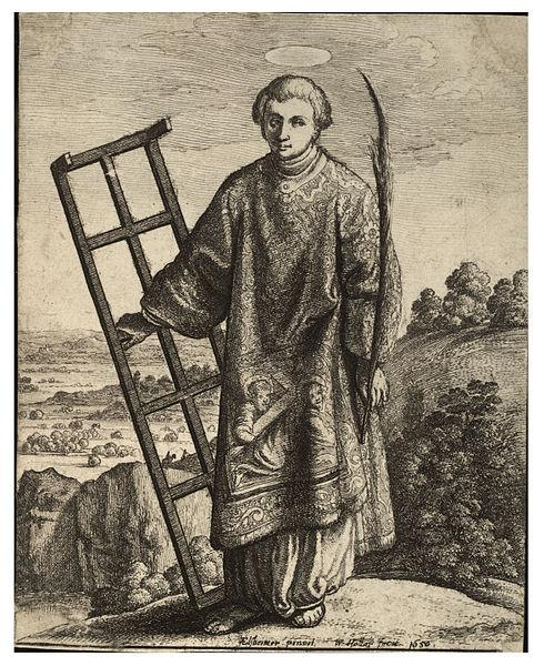 St. Lawrence Print by Wenzel Hollar