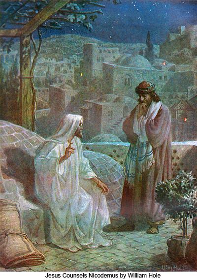 Jesus and St. Nicodemus