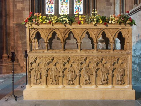 Tomb of Saint Thomas de Cantilupe at Hereford Cathedral