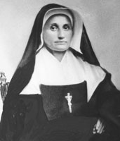 Portrait of Sister Mary Cecilia Bailly, who became the General Superior following the death of Mother Théodore.