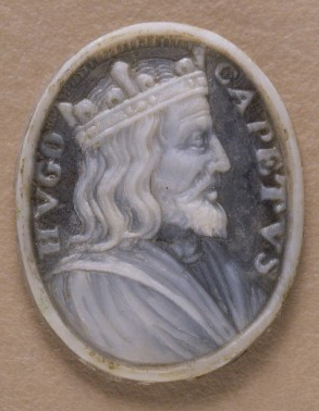 Medallion of Hugues Capet
