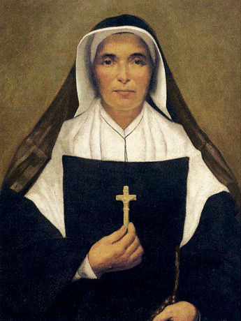 Painting of St. Théodore Guérin