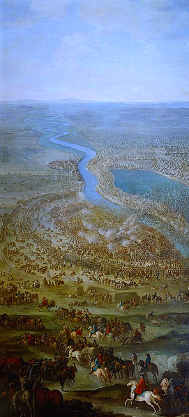 Battle of Zenta Painting by Jacques Ignace Parrocel